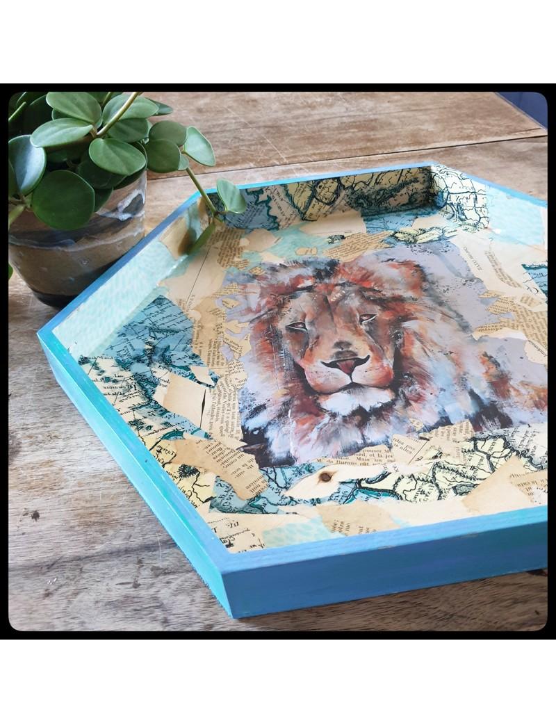 Plateau lion joxine