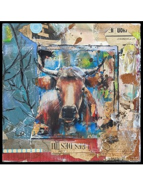 Art Collage Vache