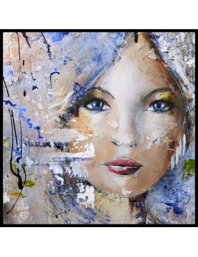 Portrait Bleu VENDU